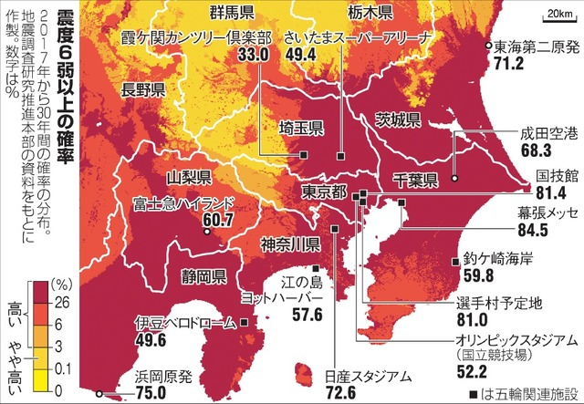 japan earthquake 2017 일본지진 예측지도 발표! 난카이 트로프가 위험하다