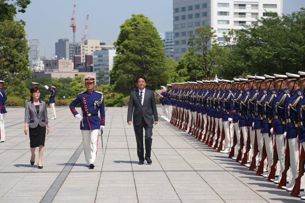 abe inada 1024x683 아시아 안보회의 참석한 일본 이나다 방위상