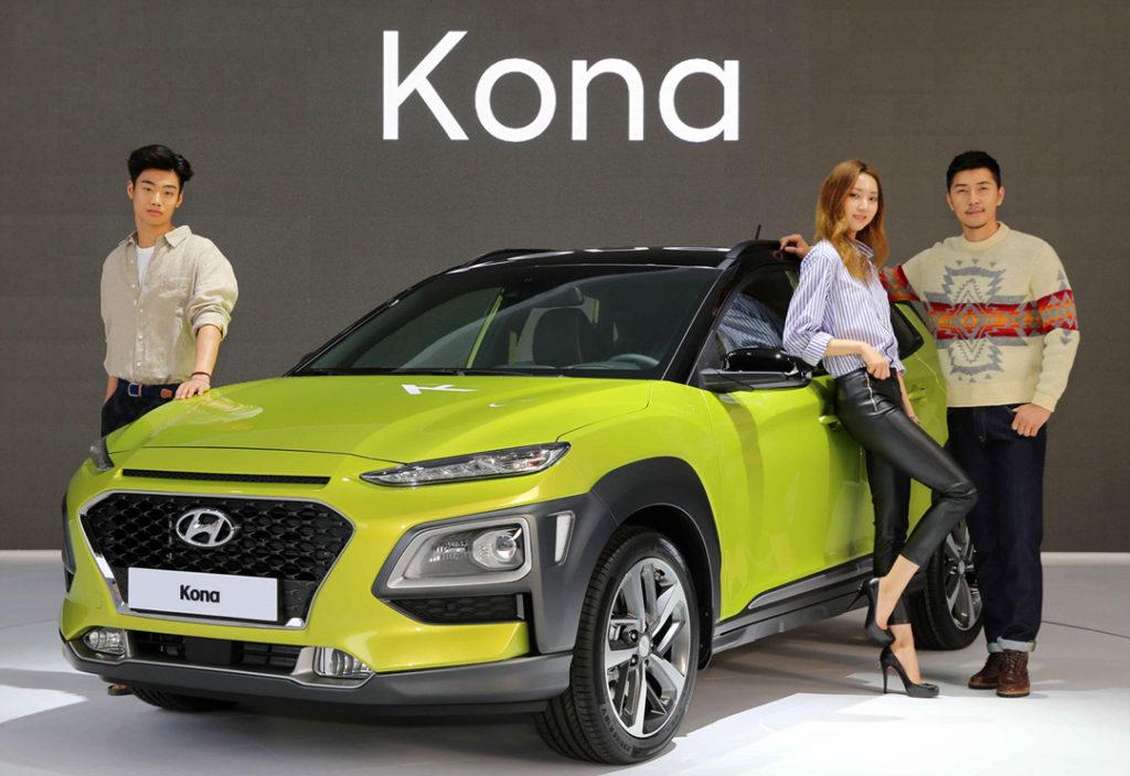 hyundai kona 1024x704 소형 SUV 코나(KONA) 신차발표회 및 차량 둘러보기
