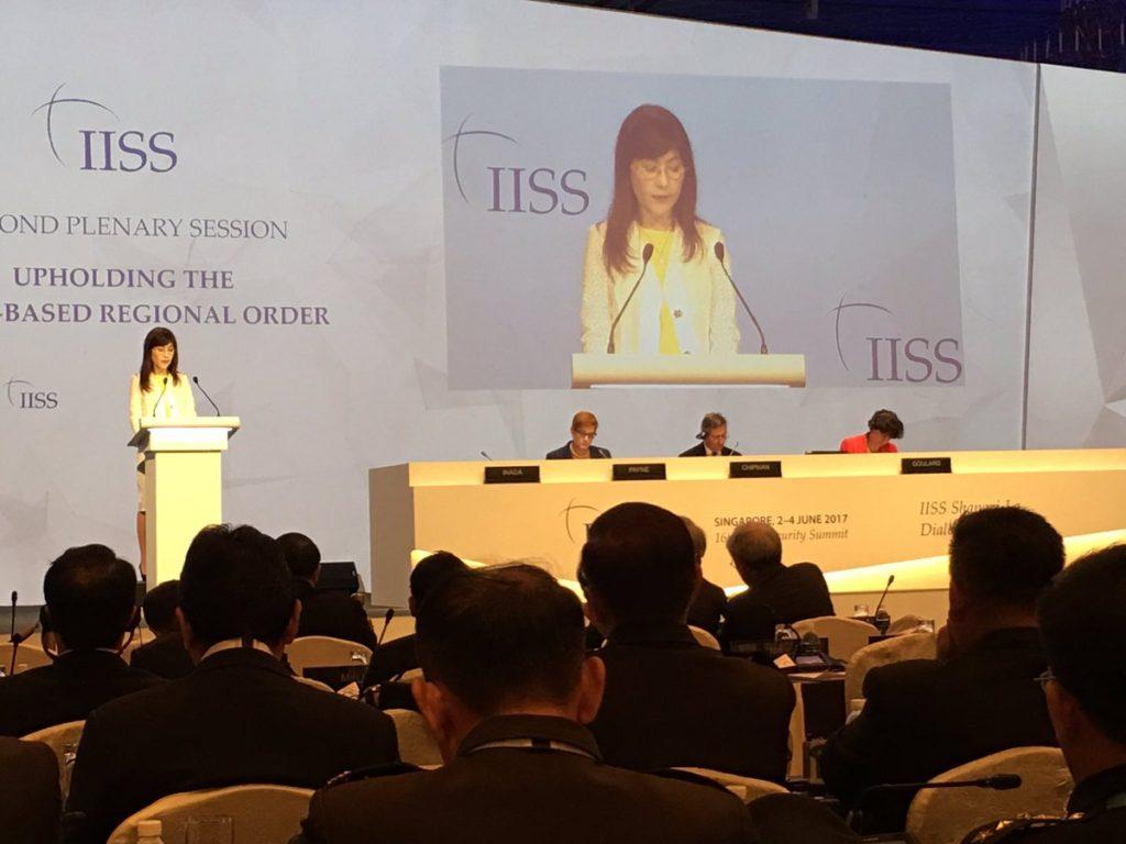 inada japan 1024x768 아시아 안보회의 참석한 일본 이나다 방위상