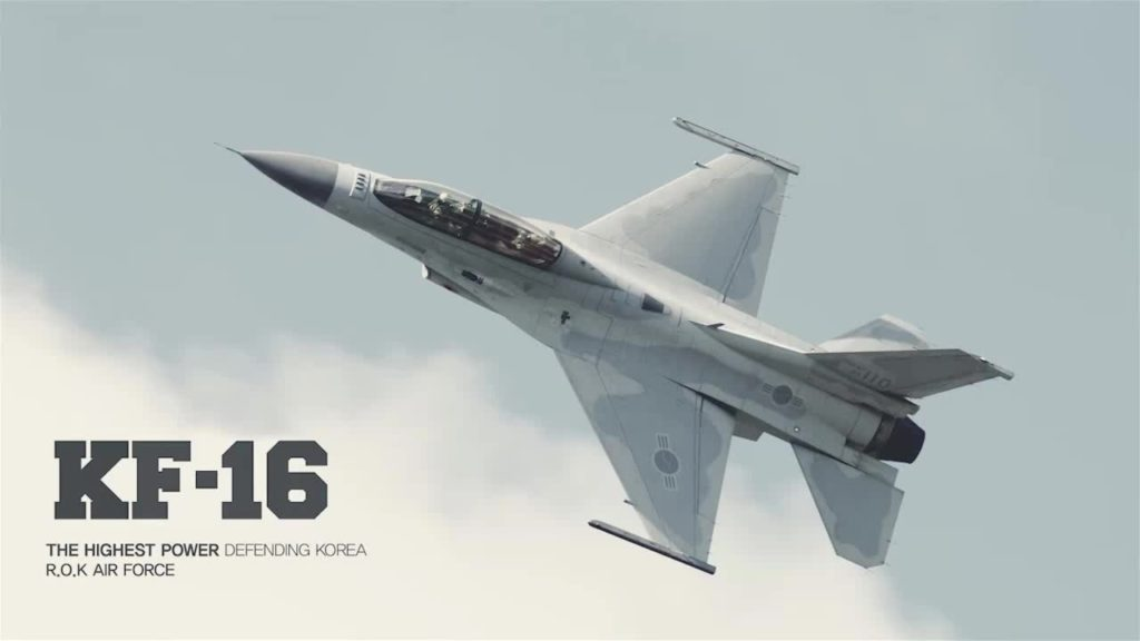korea f16 1024x576 한국공군의 F 16전투기 6대 일본 미군기지에 비상착륙