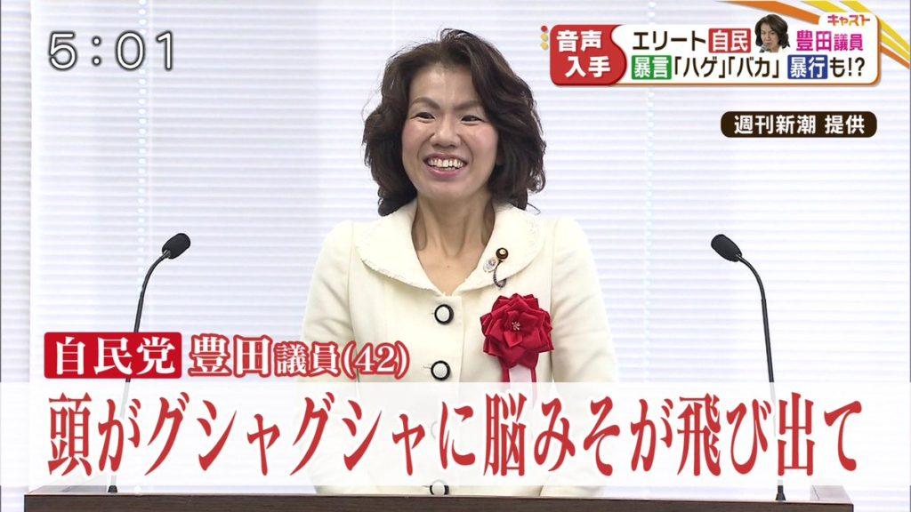 toyota mayuko 1024x576 일본 여성 국회의원 도요타 마유코의 갑질 막말 폭행과 협박