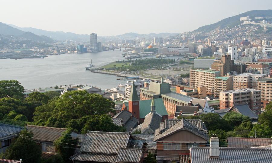 나가사키 여행 나가사키 여행 구라바엔 (글로버 정원)