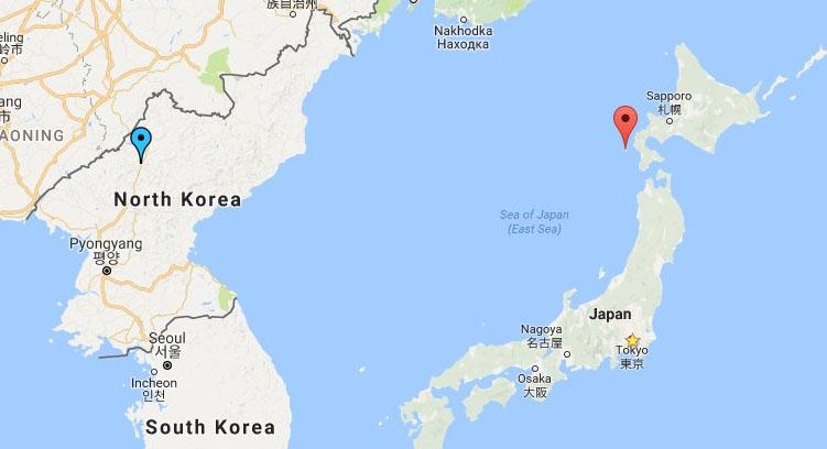 북한 탄도미사일 일본 낙하 지점 북한 탄도미사일 발사! 문 대통령, 아베 국가안전보장회의(NSC) 소집
