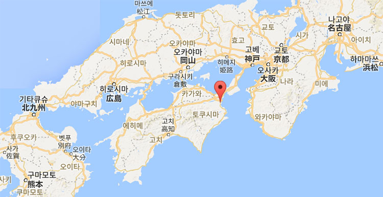 일본지도 시코쿠 도쿠시마 일본 여름축제 도쿠시마 아와오도리와 3대 봉오도리