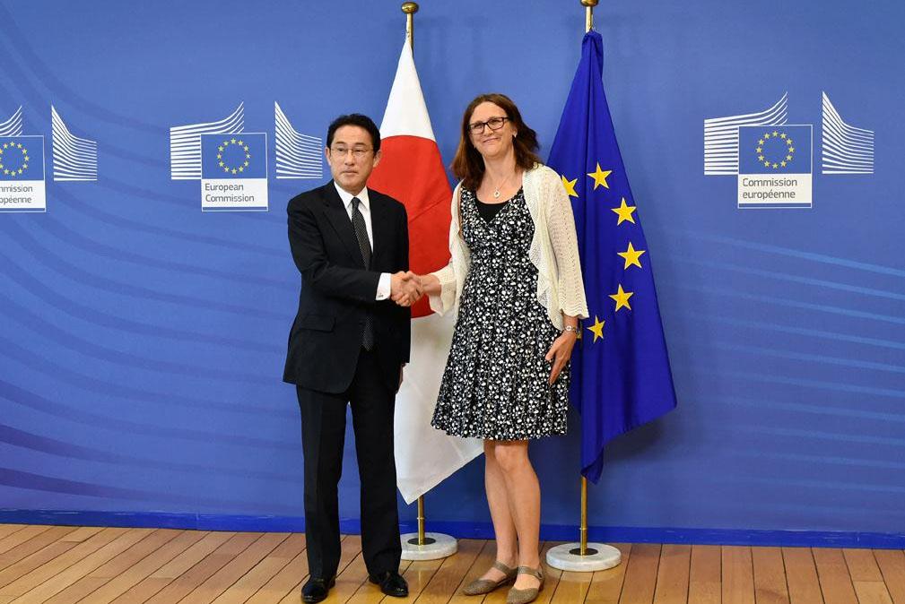 일본 EU EPA 경제연계협정 아베 총리와 EU정상 EPA합의! 거대 경제권 탄생