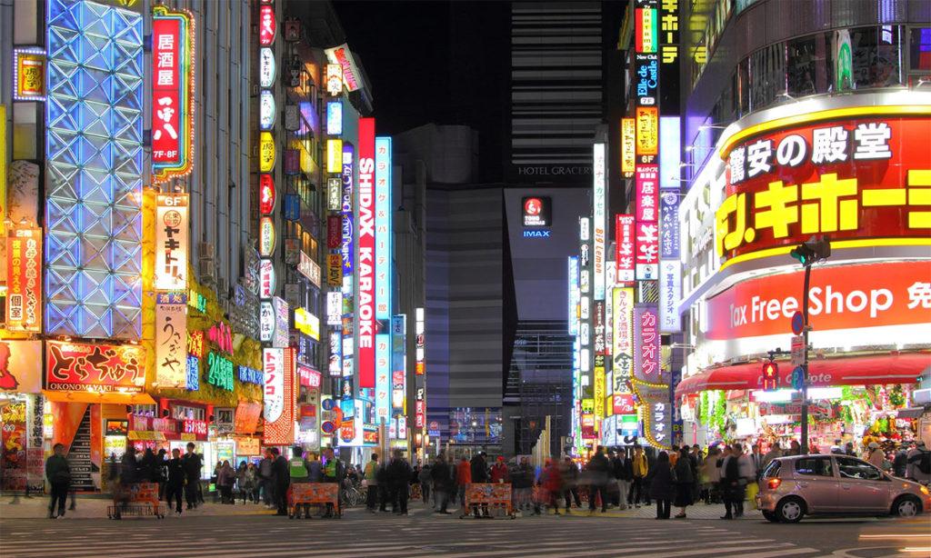 도쿄 신주쿠 카부키쵸 1024x614 규슈 후쿠오카 나카스 포장마차! 일본 남단 최대 환락가