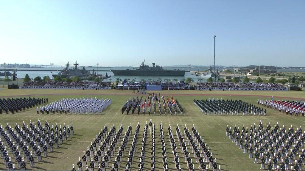 국군의 날 행사 1024x576 국군의 날 69주년 기념식 문재인 대통령 연설 전문