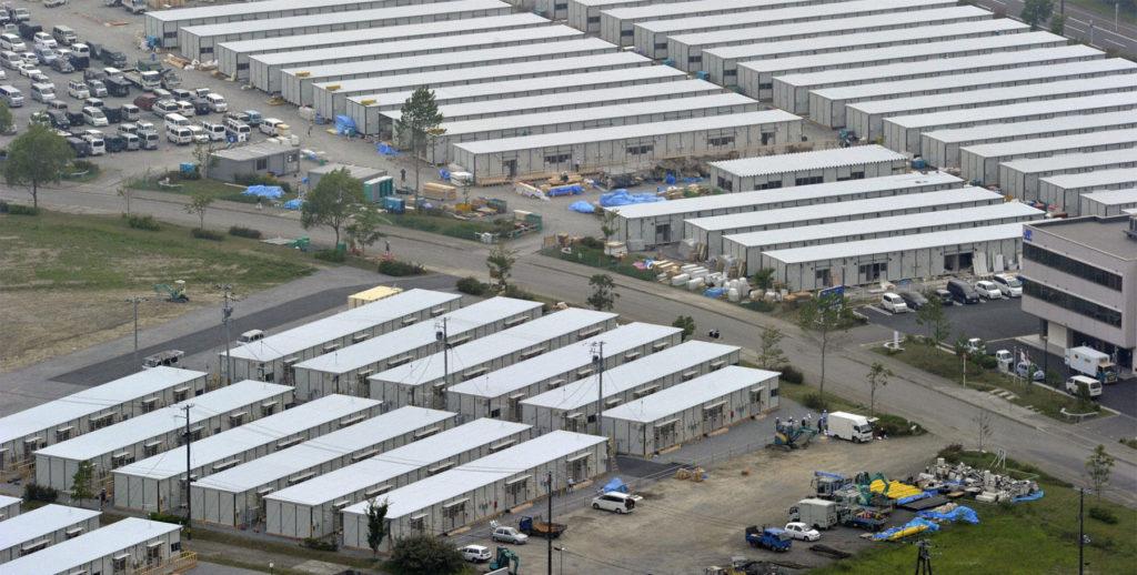 동일본 대지진 가설주택 1024x518 동일본 대지진 이후 6년반, 사망자 및 가설주택 거주자 2만명 넘어
