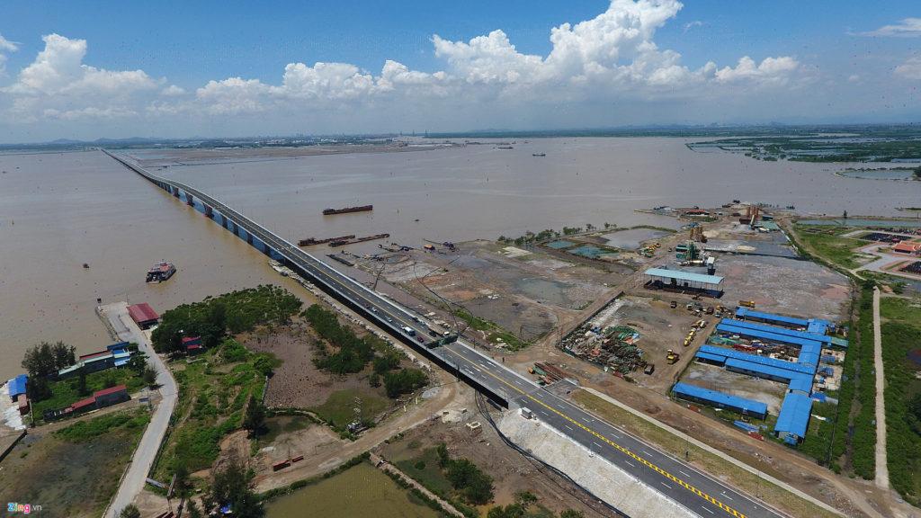 베트남 하이퐁 락후옌 해상대교 1024x576 일본기업 하이퐁에 베트남 최장의 락후옌 해상대교 완공