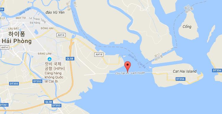 베트남 하이퐁 일본기업 하이퐁에 베트남 최장의 락후옌 해상대교 완공