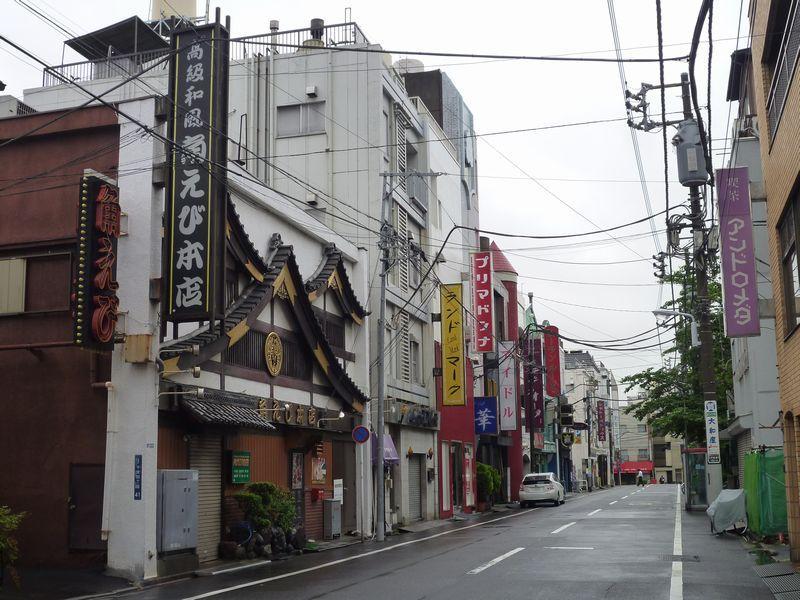 요시와라 도쿄유흥가 도쿄 산야(山谷) 도시빈민가와 일본의 3대 빈민거리
