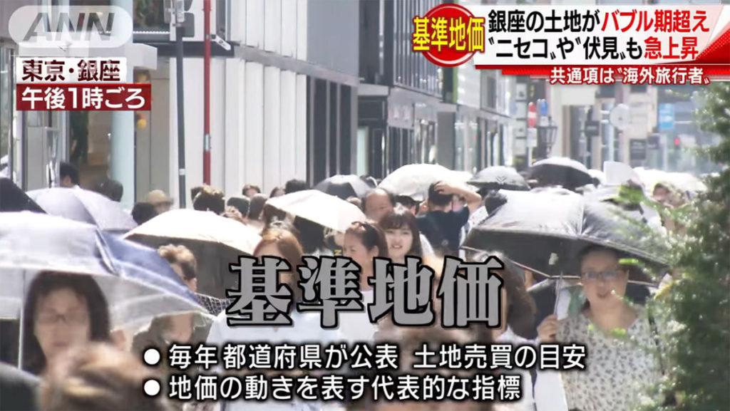 일본기준지가 1024x577 일본 기준지가 발표! 가장 땅값이 높은 곳은 도쿄 긴자