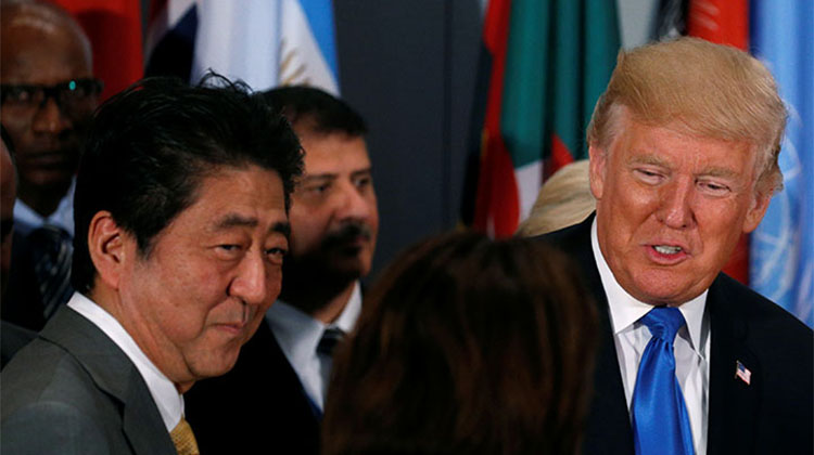 트럼프 일본 모욕 발언 일본을 모욕하는 발언을 한 트럼프의 라디오 인터뷰 음성 공개