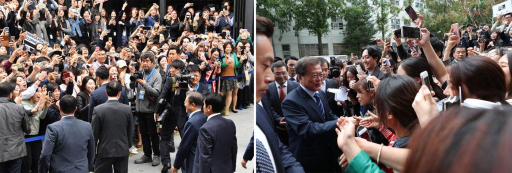 문재인 대통령 헤이그라운드 1024x346 문재인 대통령 성수동 '헤이그라운드'에서 일자리회의