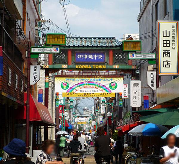 오사카 한인타운 츠루하시 일본 거주 재일 한국인 수는? 한국인이 가장 많은 지역은 오사카