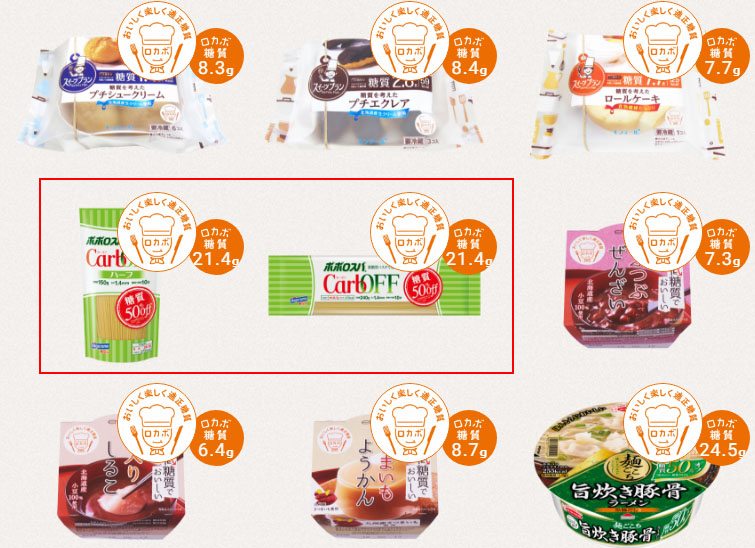 low carb 이즈미리카,고독한 미식가 당질제한식 저탄수화물 식품광고