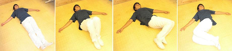 급성요통 일어나기 체조 급성요통 대처법! 요추염좌 치료 및 허리통증시 일어나는 방법