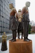 미국 샌프란시스코 위안부 동상 123x185 일본 시민단체 위안부 문제 해결 촉구 도쿄 시부야 촛불시위