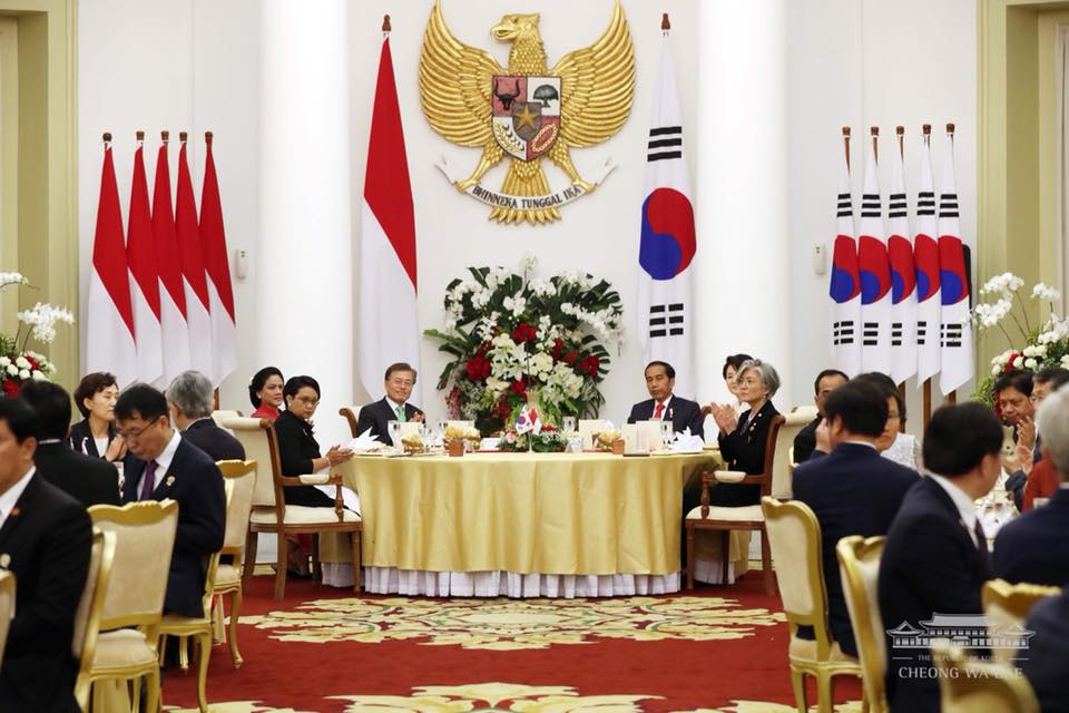 한국 인도네시아 정상회담 문재인 대통령의 인도네시아 국빈 방문 일정 및 연설 전문 소개