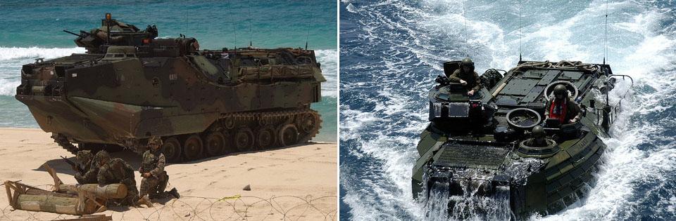 해병대 수륙양용작전 일본판 해병대 수륙기동단 창설! 오키나와 미군부대에 배치