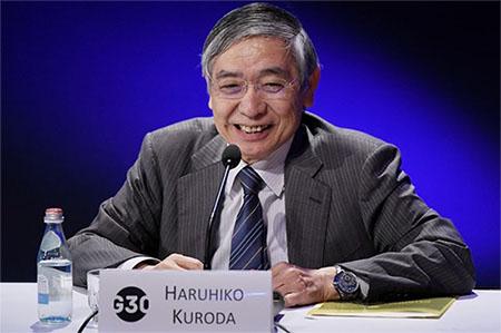 구로다 일본은행총재 일본은행, 물가 2%상승 위해 금융완화 및 마이너스 금리 유지