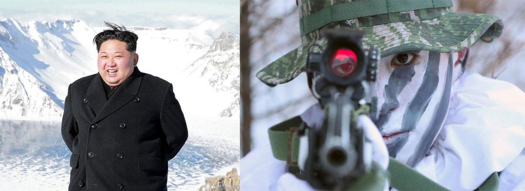 김정은 백두산 한미 동계군사훈련 1024x373 문재인 대통령 평창 동계올림픽 방송사 미국 NBC인터뷰