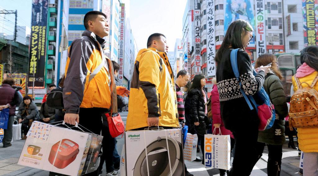중국인 일본여행 1024x568 중국인이 가고 싶은 여행지 1위에 일본! 한국인 관광객도 폭증