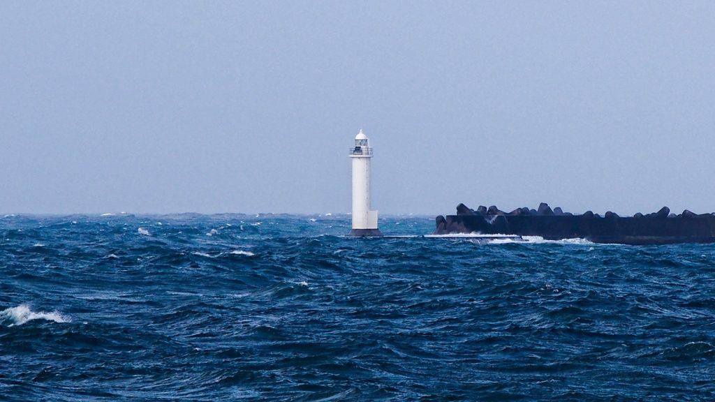 홋카이도 등대 1024x576 폭풍설로 홋카이도 루모이항 등대 사라져..