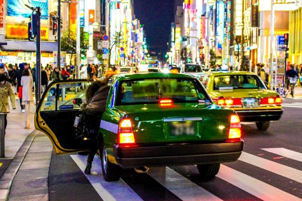도쿄 택시합승 도쿄 합승택시 도입을 위한 시범운행 시작