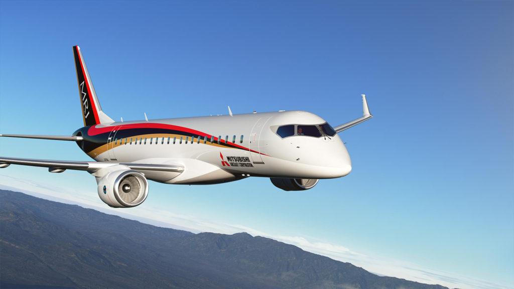 미쓰비시항공기 MRJ 1024x576 일본 미쓰비시 항공기의 제트여객기 MRJ 첫 계약취소