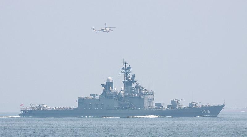 일본 해상자위대 서해 대북경계 일본 해상자위대 서해에서 북한 선박의 동향 감시