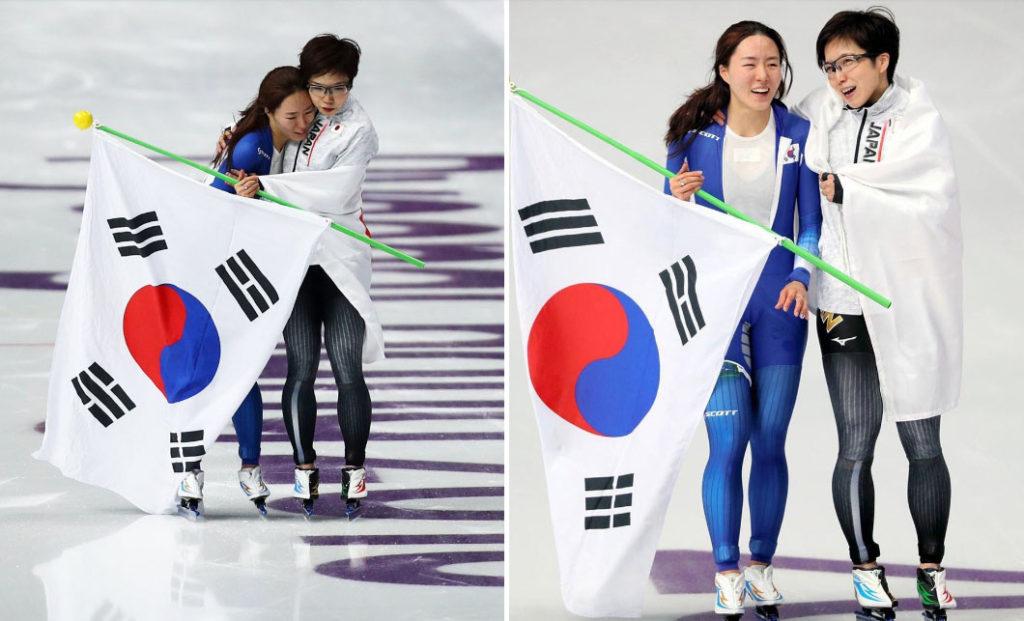 이상화 고다이라나오 1024x621 평창올림픽 메달리스트 하뉴유즈루, 고다이라나오의 포상금은?