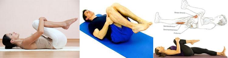 Knee to Chest Stretch 요통 허리통증에 좋은 스트레칭 방법 5가지