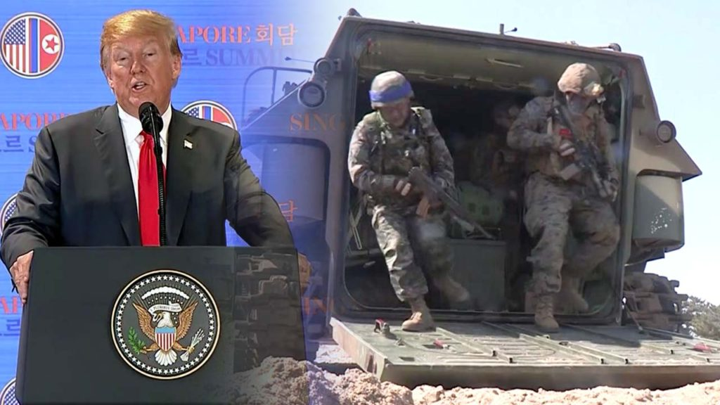 한미군사훈련중단 1024x576 [이지니혼고] 북한 비핵화 협상! 8월 한미군사훈련 일시 중단