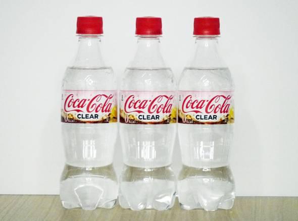 colaclear 일본의 투명 탄산음료 시장! 코카콜라 클리어 신상출시