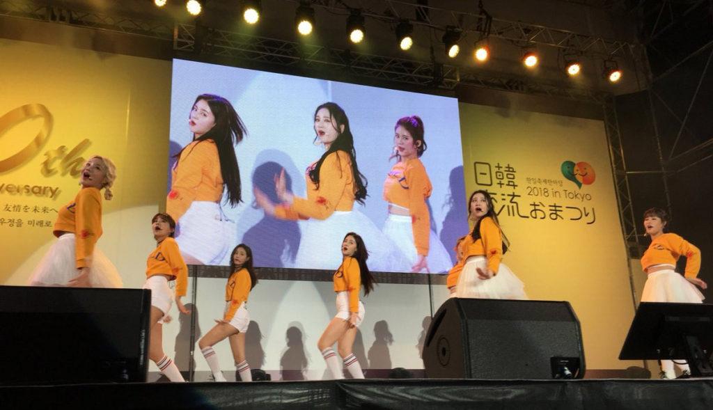 모모랜드 일본공연 1024x589 도쿄에서 한일축제한마당 2018 in Tokyo