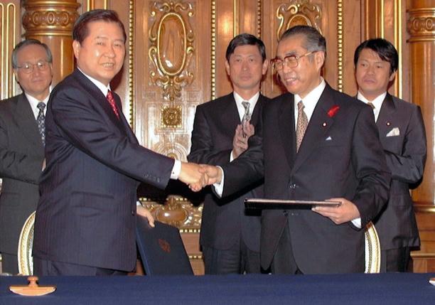 한일공동선언 문대통령 한일정상회담, 아베 메세지 김정은에 전달