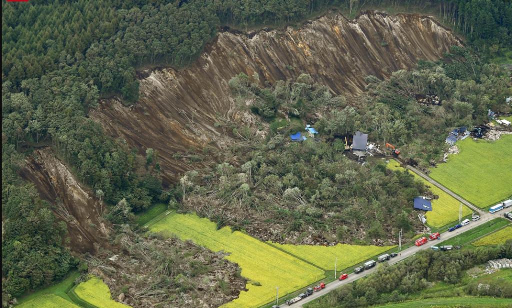 hokkaido earthquake 1024x617 일본 홋카이도 지진 농림수산업 피해액