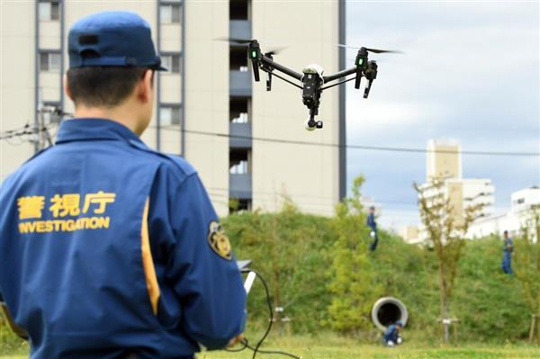 일본경찰 드론 일본경찰, 감식활동에 드론 본격 활용