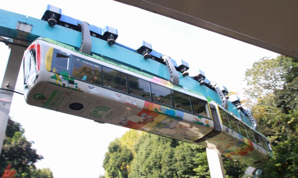 모노레일 우에노현수선 1024x614 12월 17일은 일본 최초의 우에노공원 모노레일 개통일
