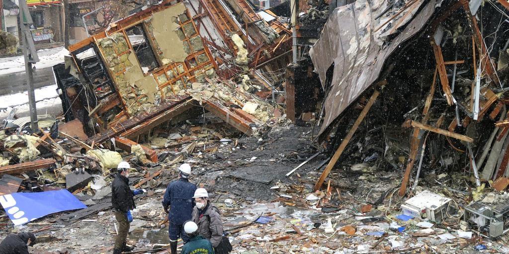 삿포로 폭발사고 1024x512 홋카이도 삿포로 폭발사고로 이자카야 손님 42명 부상
