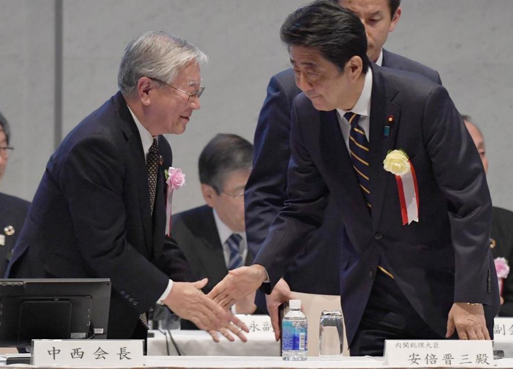 아베일본총리 아베집권 6주년! 일본 최장 호경기? 기업에 임금인상 압박
