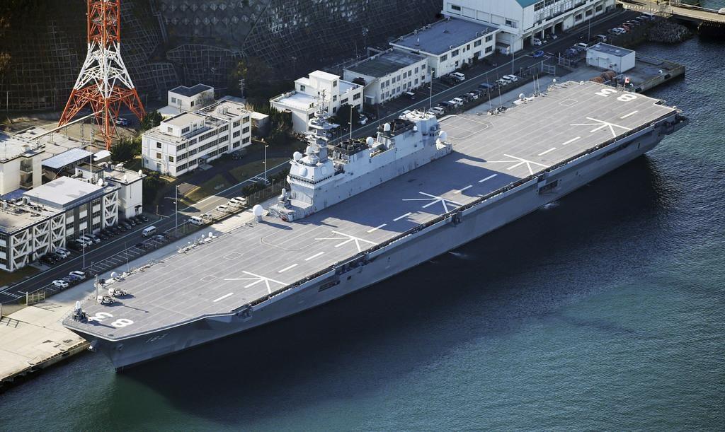이즈모 항모화 1024x611 일본 방위대강 의결! 항공모함 추가 건조 가능성 제기