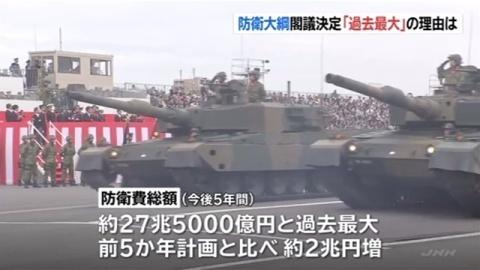 일본방위비5 일본 방위비 27조엔대! 트럼프 압력으로 F35 등 미국무기 대량구매