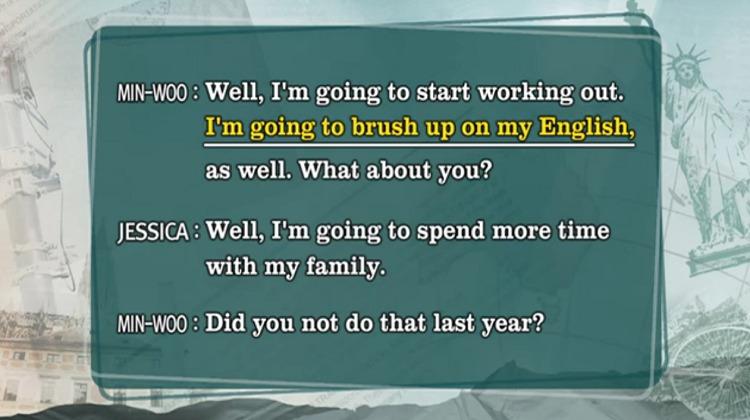 새해소망 EBS 생활영어 새해맞이 인사 및 소망 영어로 말하기
