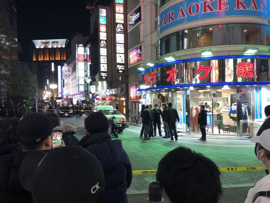 신주쿠 노래방 1024x768 도쿄 신주쿠 가부키쵸 노래방 총격사건! 재일 한국인 야쿠자 사망