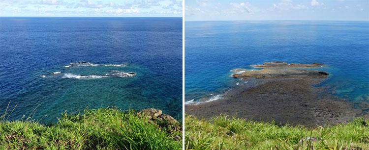 일본 최서단 일본 최서단 약 110m 이동! 요나구니섬의 바위를 지형도에 포함