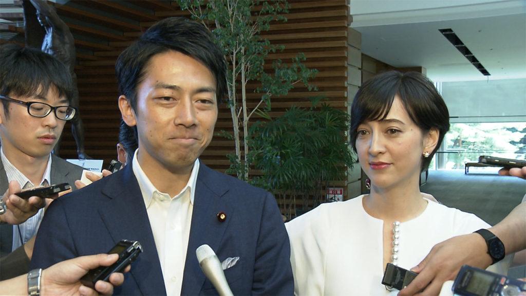 koizumi taki 1024x576 고이즈미 전 총리의 차남, 4살 연상의 혼혈 아나운서와 속도위반 결혼
