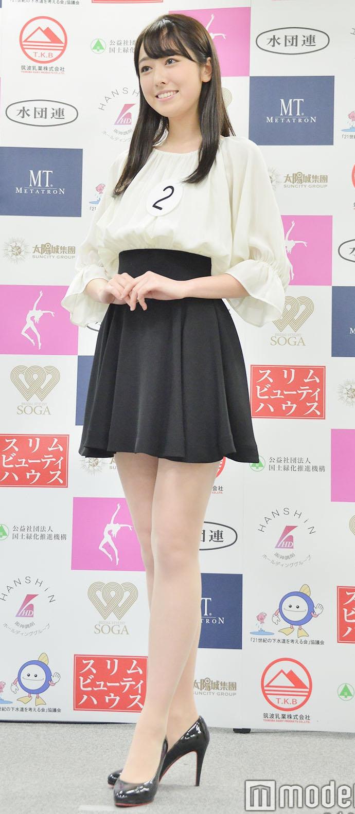 miss japan 일본 미인대회 2020 미스재팬 그랑프리는 게이오대 여대생 오다안주
